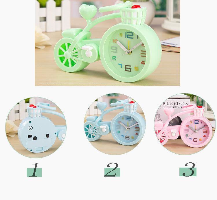 Đồng hồ xe đạp mẫu mới dễ thương (màu ngẫu nhiên) bán chạy