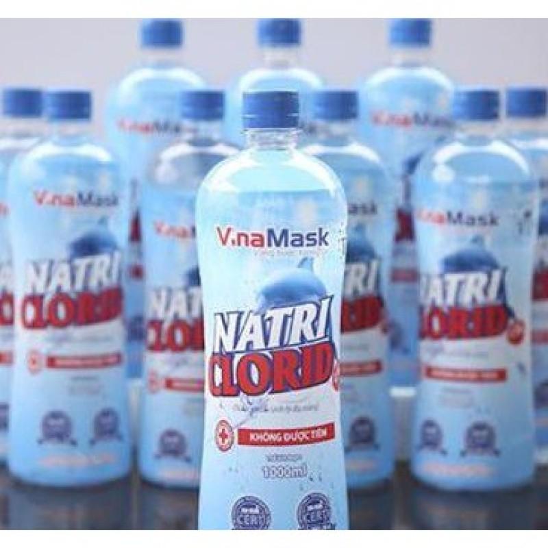 Giá bán Nước muối sinh lý Natri Clorid 0,9% (1000ml) VINAMASK