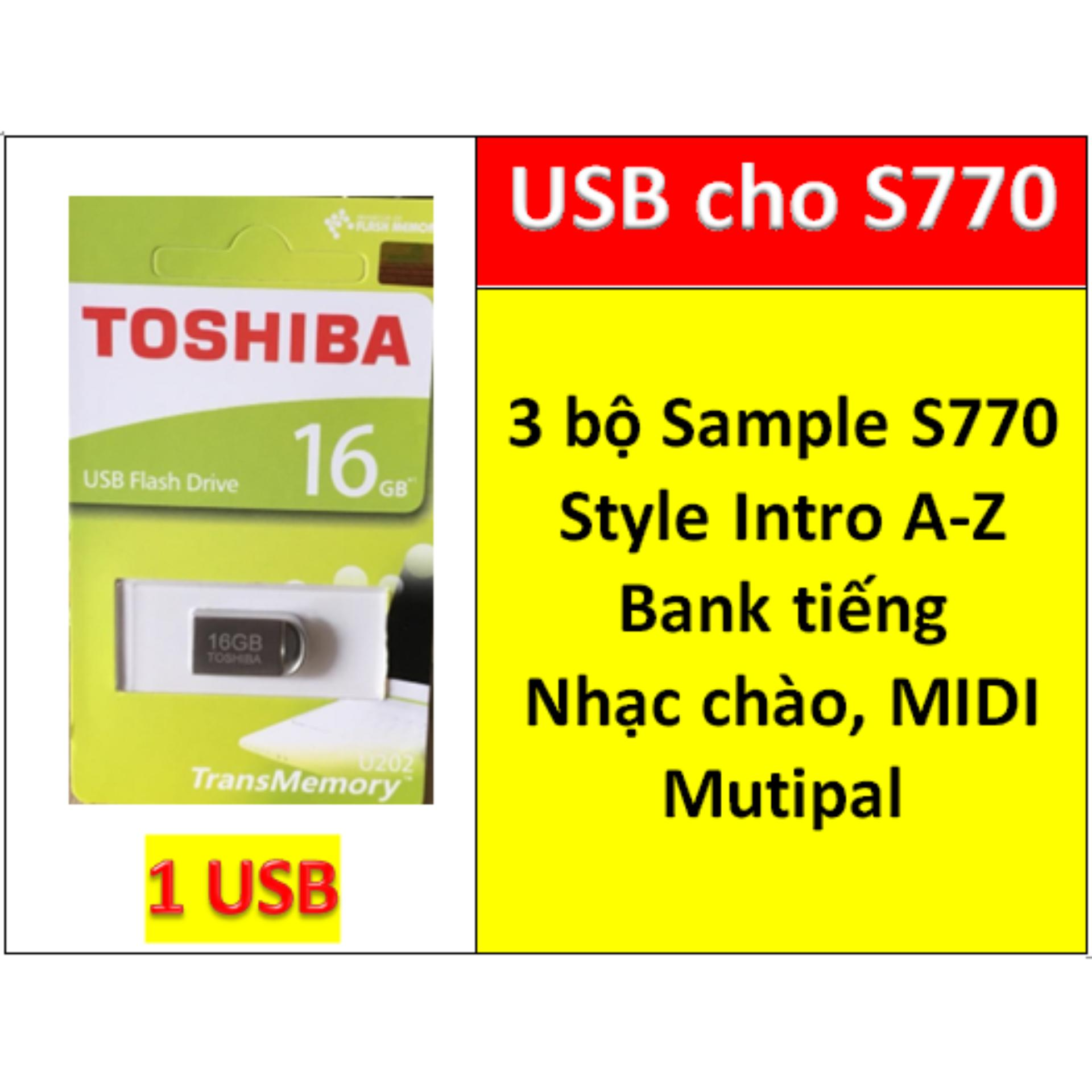 Voucher Khuyến Mãi USB Mini 3 BỘ Sample Cho đàn Organ Yamaha PSR S770, Style, Nhạc Chào, Songbook, Midi + Full Dữ Liệu Làm Show