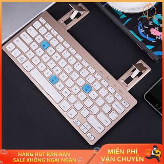 Bàn phím bluetooth cho laptop, Bàn phím mini bluetooth, Bàn phím bluetooth BOW HB191A Hỗ trợ kết nối 3 thiết bị cùng một lúc giúp bạn linh hoạt hơn trong quá trình sử dụng thumbnail