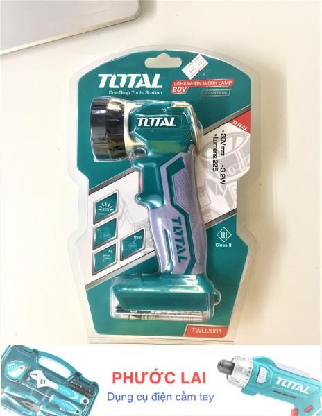 Bảng giá Đèn led cầm tay làm việc dùng pin 20V Total TWLI2001