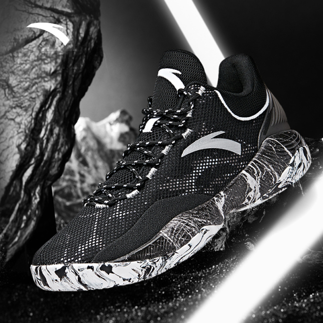 Giày bóng rổ nam Anta 812031605, công nghệ đêm A-SHOCK giá rẻ