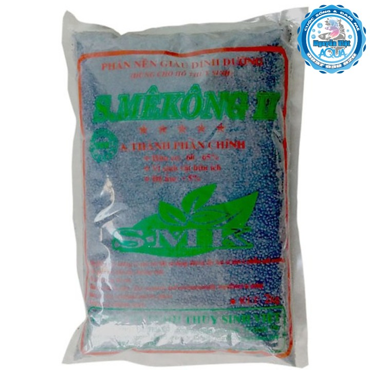 SMekong 2 - Phân nền thủy sinh - 2kg