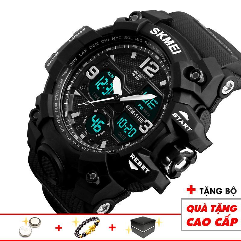 Đồng hồ điện tử nam thể thao SKMEI SKM25 kiểu dáng nam tính mạnh mẽ năng động chuẩn quý ông thời đại mới (Đen) - Arman Store bán chạy