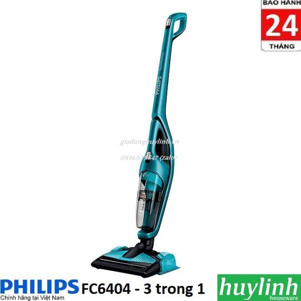 Máy hút bụi - lau sàn dùng pin Philips FC6404 - 18V - Chính hãng