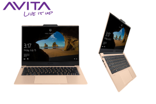 AVITA LIBER V 14 Unicorn Gold with Backpack - AMD RyzenTM 7 3700U RAM 8GB SSD 512GB Win 10 Home - Bảo hành 18 tháng - Tặng Balo - Hàng chính hãng thumbnail