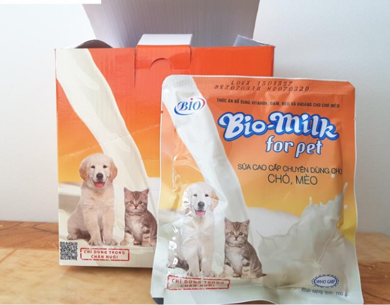 Sữa Bột Cho Chó Mèo Bio Milk For Pet 100g
