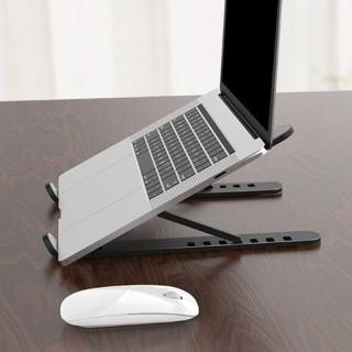 (FREESHIP) Giá đỡ laptop gấp gọn thông minh hình chữ X được làm bắng nhựa PP cao cấp nặng chịu lực cực tốt - Giá Đỡ Laptop 2 Thanh Chữ X (Nhựa PP ) - Bàn laptop giúp tản nhiệt gấp gọn thông minh thumbnail