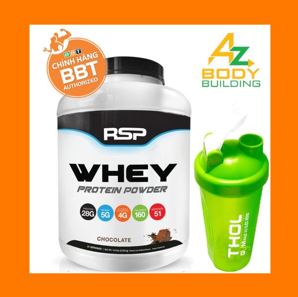 RSP Whey Protein Powder – Whey đẳng cấp giá sốc - Tặng kèm bình lắc THOL màu ngẫu nhiên