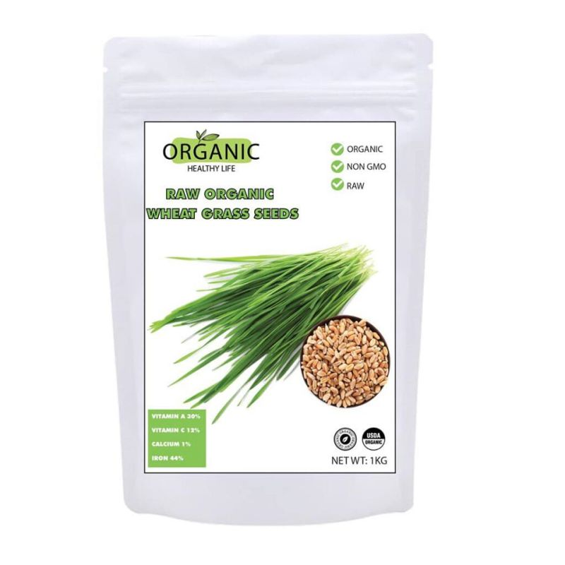 Hạt cỏ lúa mì organic USD 1kg