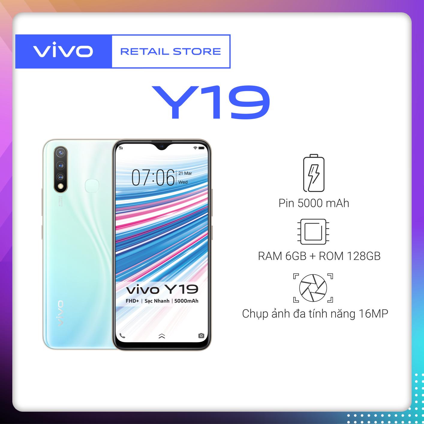 BẢO HÀNH 12 THÁNG Điện thoại Vivo Y19 (6GB/128GB) -...