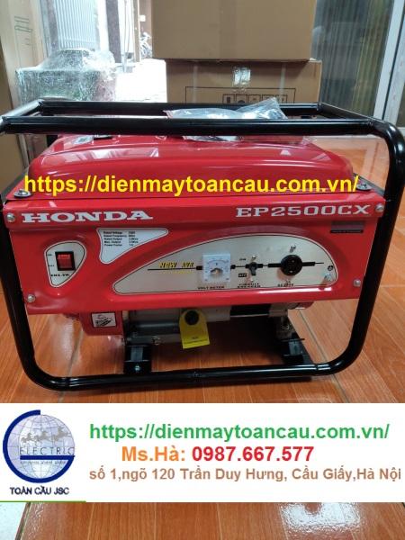 Máy phát điện Honda EP2500CXS ( Đề Nổ-2.5kva) Thailand