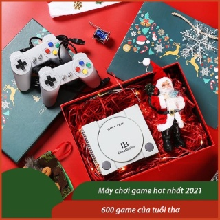 Máy Chơi Game 4 Nút GameStation IB Tích Hợp 600 Games - Phiên bản AV- Game cổ điển như máy chơi gamer điện tử game stick 4K, 3000+, 3500+, 10000+ trò chơi, ps1, ps2,ps3, ps4... thumbnail