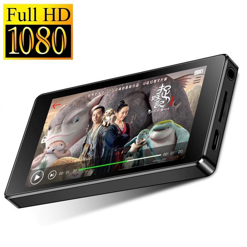 Máy nghe nhạc Lossless màn hình cảm ứng Ruizu D20  - Máy nghe nhạc Mp3/Mp4 hỗ trợ xem video độ phân giải Full HD 1080P