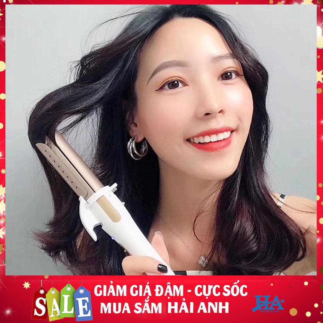 Máy uốn tóc Nova 2 chức năng uốn và duỗi, máy làm tóc xoăn sóng, cụp, máy duỗi tóc cầm tay chuẩn salon - GDHK515