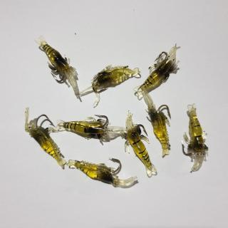 Bộ 5 mồi tôm có lưỡi câu cá - mồi giả - 5 mồi tôm ( Ngu Long ) thumbnail
