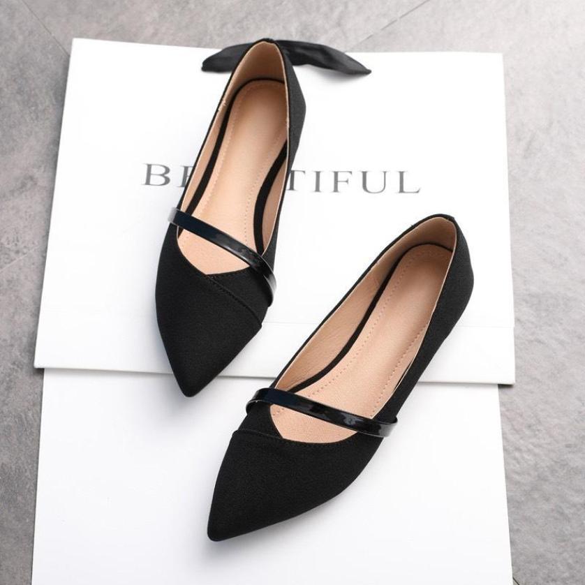 Giày búp bê đế bệt hàng VNXK mã B10 giá rẻ