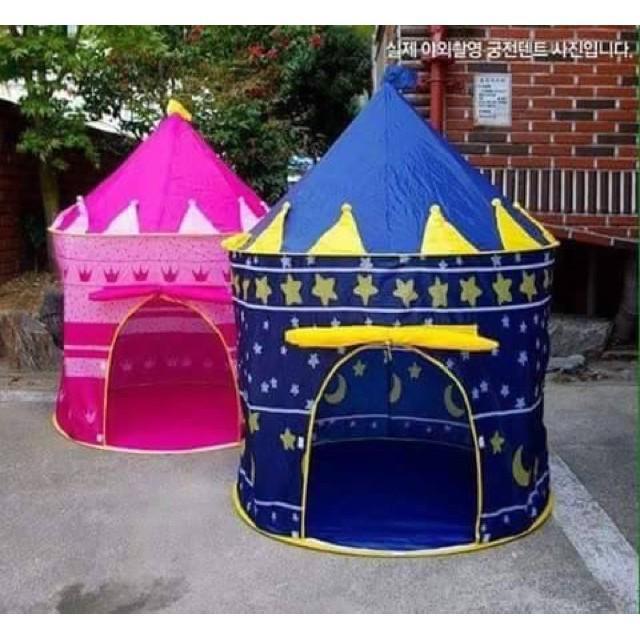 Lều lâu đài công chúa hoàng tử cho bé yêu chất liệu cao cấp thiết kế đẹp mắt, đáng yêu