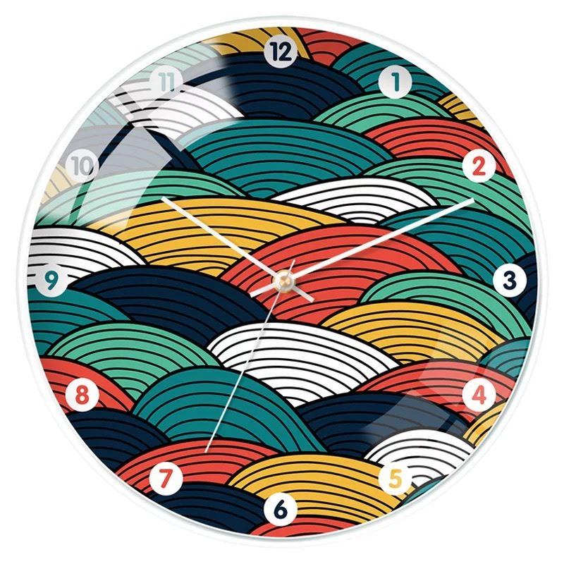 Nơi bán Kim trôi - Đồng hồ treo tường size lớn 31cm phong cách hiện đại