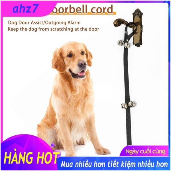 【COD】Chuông Cửa Da Chất Lượng Cao Cho Chó Chuông Cửa Cho Chó, Để Tập Đi Vệ Sinh