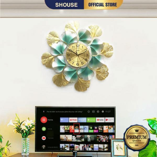 Nơi bán Đồng Hồ Treo Tường Trang Trí Đẹp S-DC888 độc lạ 3d cỡ lớn nghệ thuật phù hợp cho phòng khách, phòng ngủ