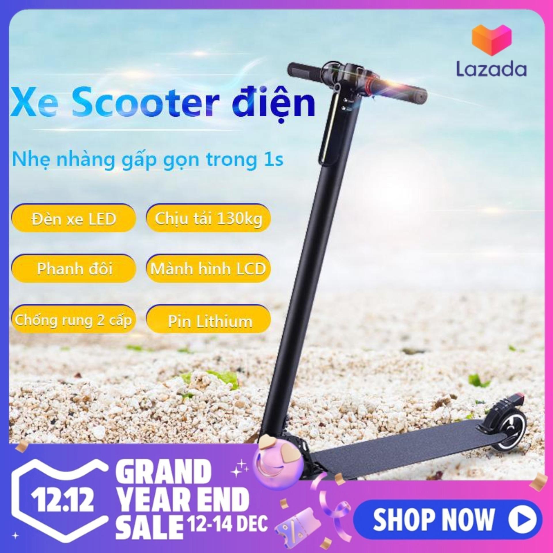 Mua Xe Scooter xe trượt điện mini có thể gấp thanh thiếu niên nam nữ đi làm đi học tiện lợi