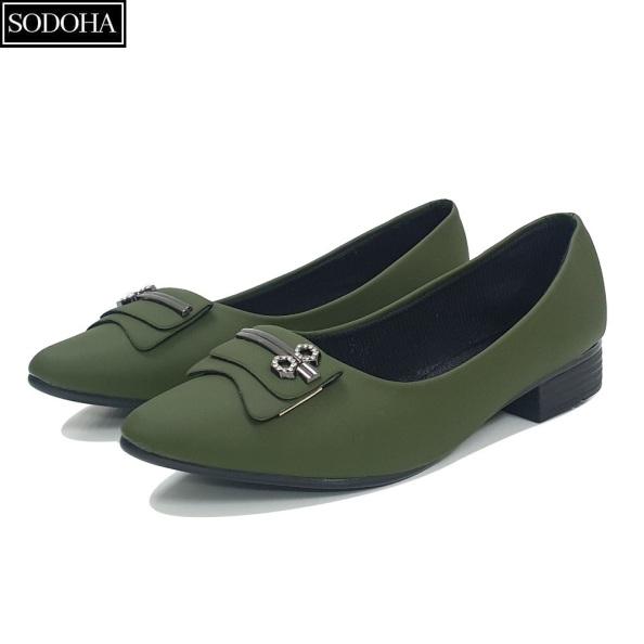 Giày nữ , Giày lười nữ , Giày đế bệt nữ - Giày nữ thời trang SODOHA SDH2216 giá rẻ