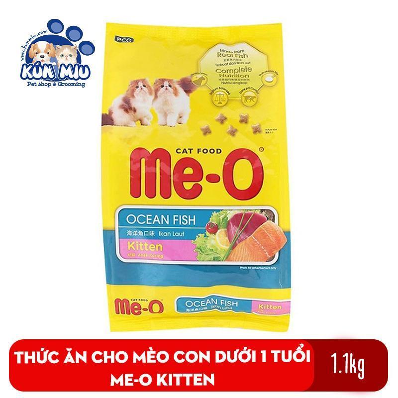 Thức ăn cho mèo con dưới 1 tuổi Me-O Kitten 1.1kg