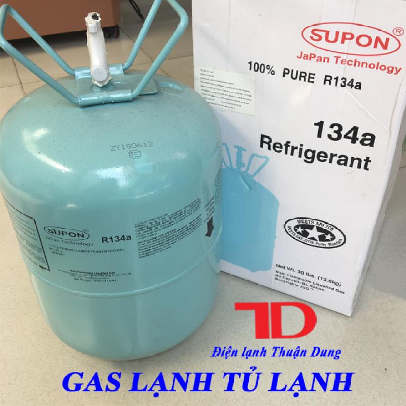 Gas lạnh Tủ Lạnh R134 SUPON 13.6KG, Môi chất lạnh R134