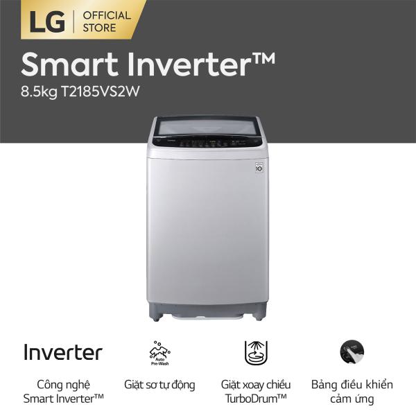 Bảng giá [FREESHIP 500K TOÀN QUỐC] Máy giặt lồng đứng LG Inverter T2185VS2W 8.5kg - Hãng phân phối chính thức Điện máy Pico
