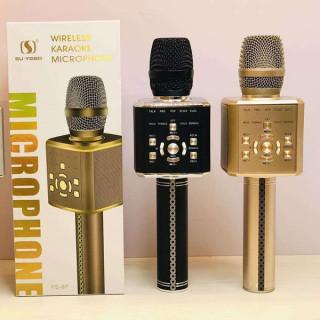 [Mẫu Đặc Biệt 2020] Micro Bluetooth Karaoke, Micro Live Stream, Micro Cao Cấp, Micro Ys-97 Giá Rẻ, Micro Cầm Tay, Công Nghệ Lọc Bỏ Tạp Âm, Trống Hú Rè, Âm Thanh Trong Và Lớn, Âm Bass Trầm Ấm, Có Usb, Thẻ Nhớ, Cổng 3.5, Bh 12 Th thumbnail