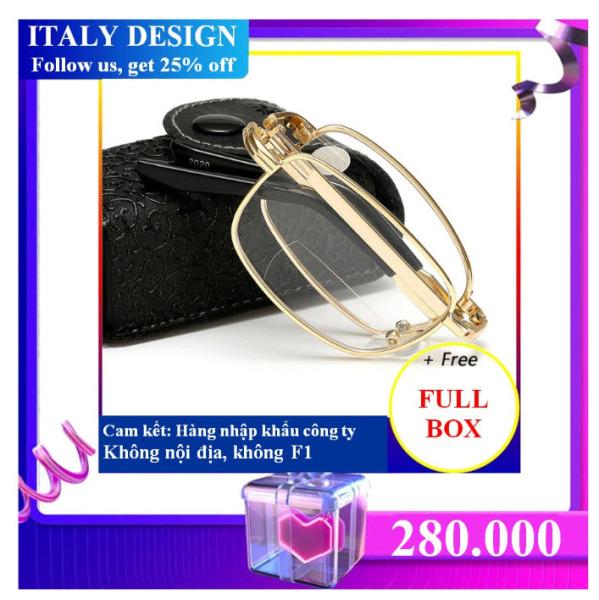 Giá bán Kính nhập khẩu ITALY DESIGN MẪU 188 (độ +100) FULL BOX