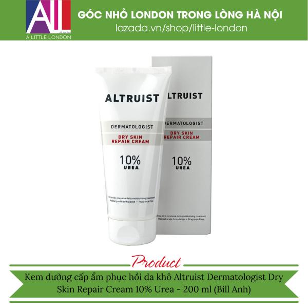Kem dưỡng cấp ẩm phục hồi da khô Altruist Dermatologist Dry Skin Repair Cream 10% Urea - 200 ml (Bill Anh) giá rẻ