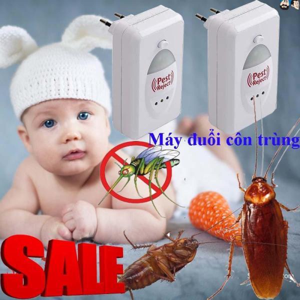 Máy Đuổi Côn Trùng Bằng Sóng Siêu Âm Pest Jerect, Loại Bỏ Chuột, Ruồi , Muỗi , Gián,... Khỏi Ngôi Nhà Bạn.