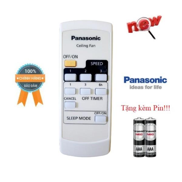 Bảng giá Điều khiển quạt trần Panasonic F56MPG/ F56MZG /F564- Hàng mới chính hãng 100% tặng kèm Pin-Điện tử Alex