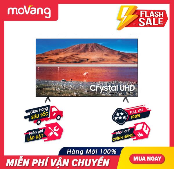 Bảng giá [TRẢ GÓP 0%] Smart Tivi 4K Samsung 43 inch 43TU7000 Crystal UHD (2020) - Công nghệ màu sắc:Công nghệ Crystal Display - Bộ xử lý hình ảnh:Bộ xử lý Crystal 4K tối ưu hóa hình ảnh
