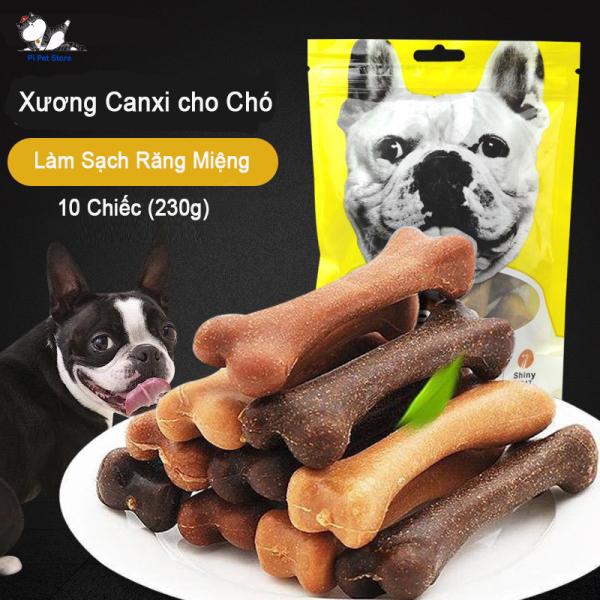 Xương gặm sạch răng cho chó - Xương Bàn Chải Cho Chó Yaho - Pi Pet Store
