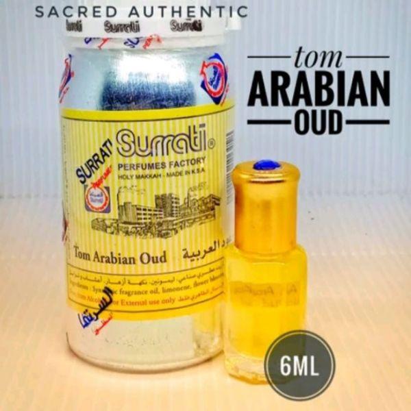 tinh dầu dubai Ai Cập 6ml mùi hương TOM ARABIAN OUD cao cấp