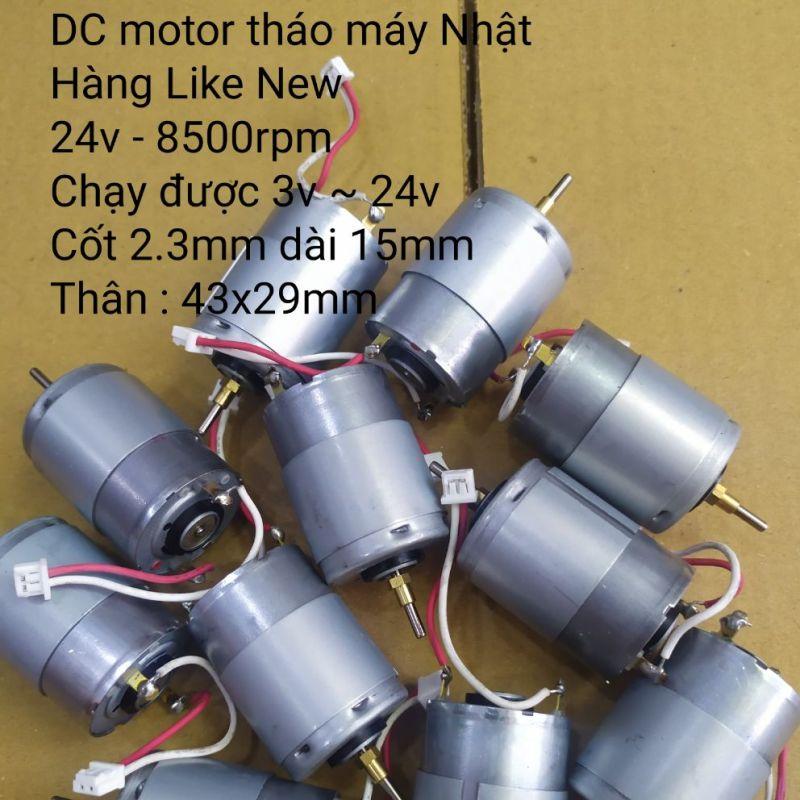 DC motor RS385PH 24v 8500rpm Like New