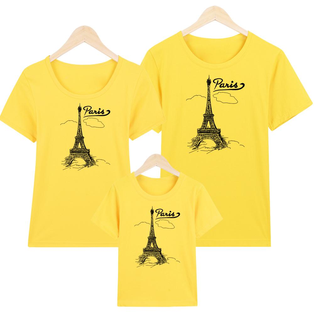 YANO Áo thun nữ-Áo Thun Gia Đình in hình Paris May -ATNK1074 -Giá Trên là giá cho 1 chiếc áo