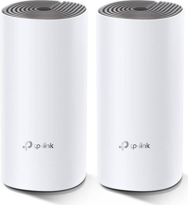 Giá TP-Link Hệ thống Wi-Fi Mesh Cho Gia Đình AC1200 cho độ phủ Wi-Fi tuyệt vời - Deco E4