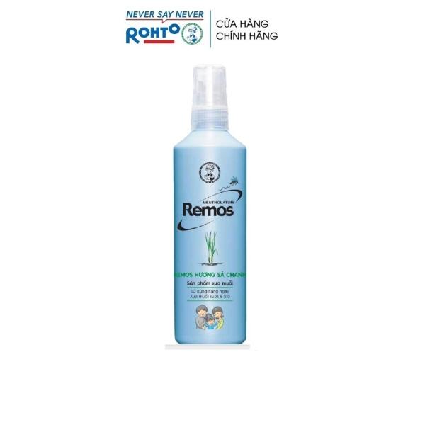 Dung dịch chống muỗi Rohto Mentholatum Remos hương Sả Chanh 150ml giá rẻ