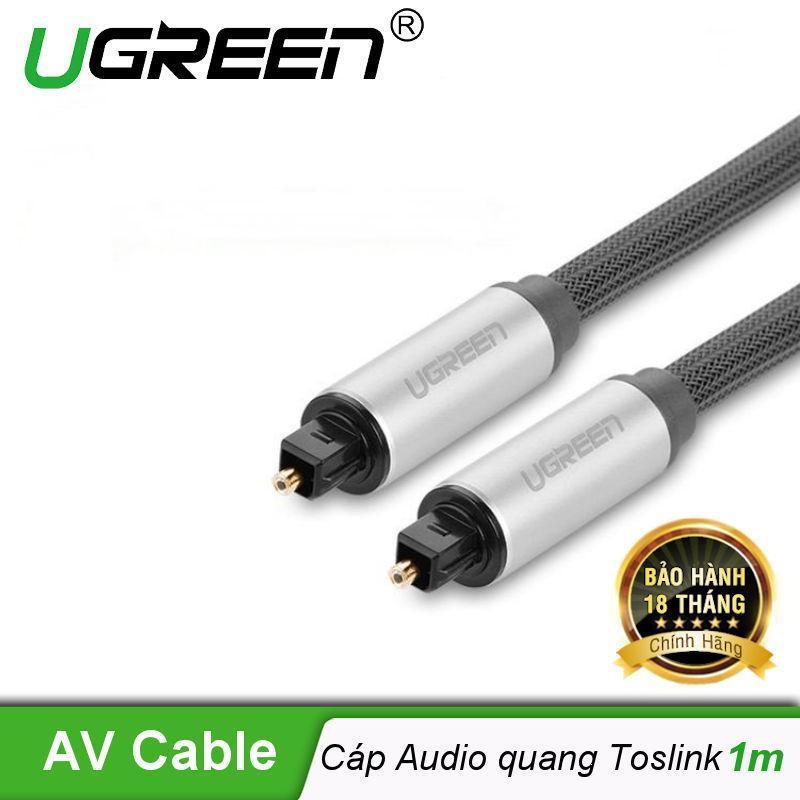Bảng giá Dây audio quang (Toslink Optical) đầu nhôm UGREEN AV108  - Hãng phân phối chính thức Phong Vũ