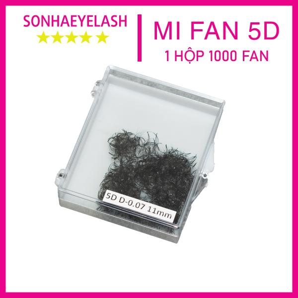 Mi volume chùm 5D, mi fan 5D, 1 hộp 1000 fan giá rẻ