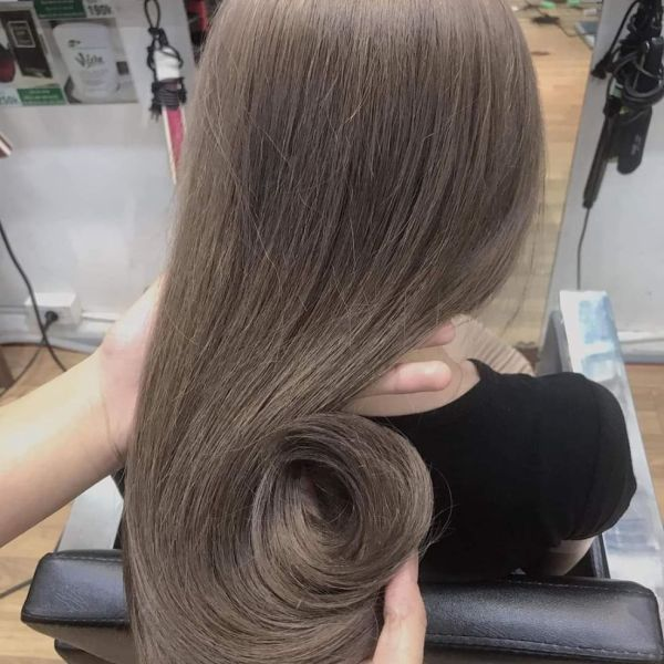 Thuốc nhuộm tóc màu Nâu Khói Lạnh + kèm trợ nhuộm cao cấp