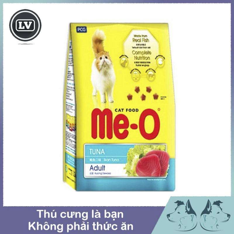 Hạt khô cho mèo - Thức ăn cho mèo lớn Me-O vị cá ngừ có phân loại 400g và 1.2kg