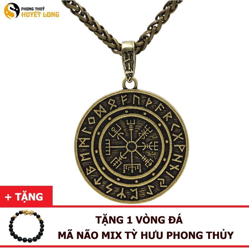 Dây Chuyền Money Amulet - Đồng Tiền May Mắn, Tài Lộc, Bình An - (Màu Vàng Đồng, Bạc)