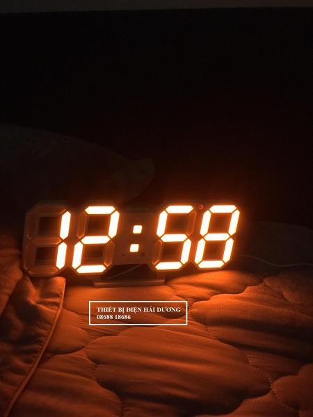 Đồng hồ LED 3D treo tường, để bàn thông minh TN828 bán chạy