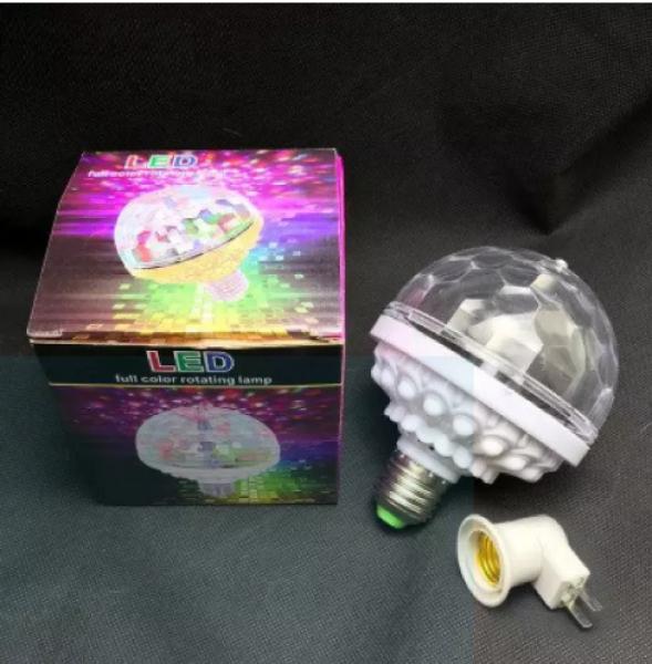 [HCM]Đèn vũ trường xoay 360 cực sống động đèn led  dèn led xoay nhiều màu + Đuôi Kèm Theo có công tắc