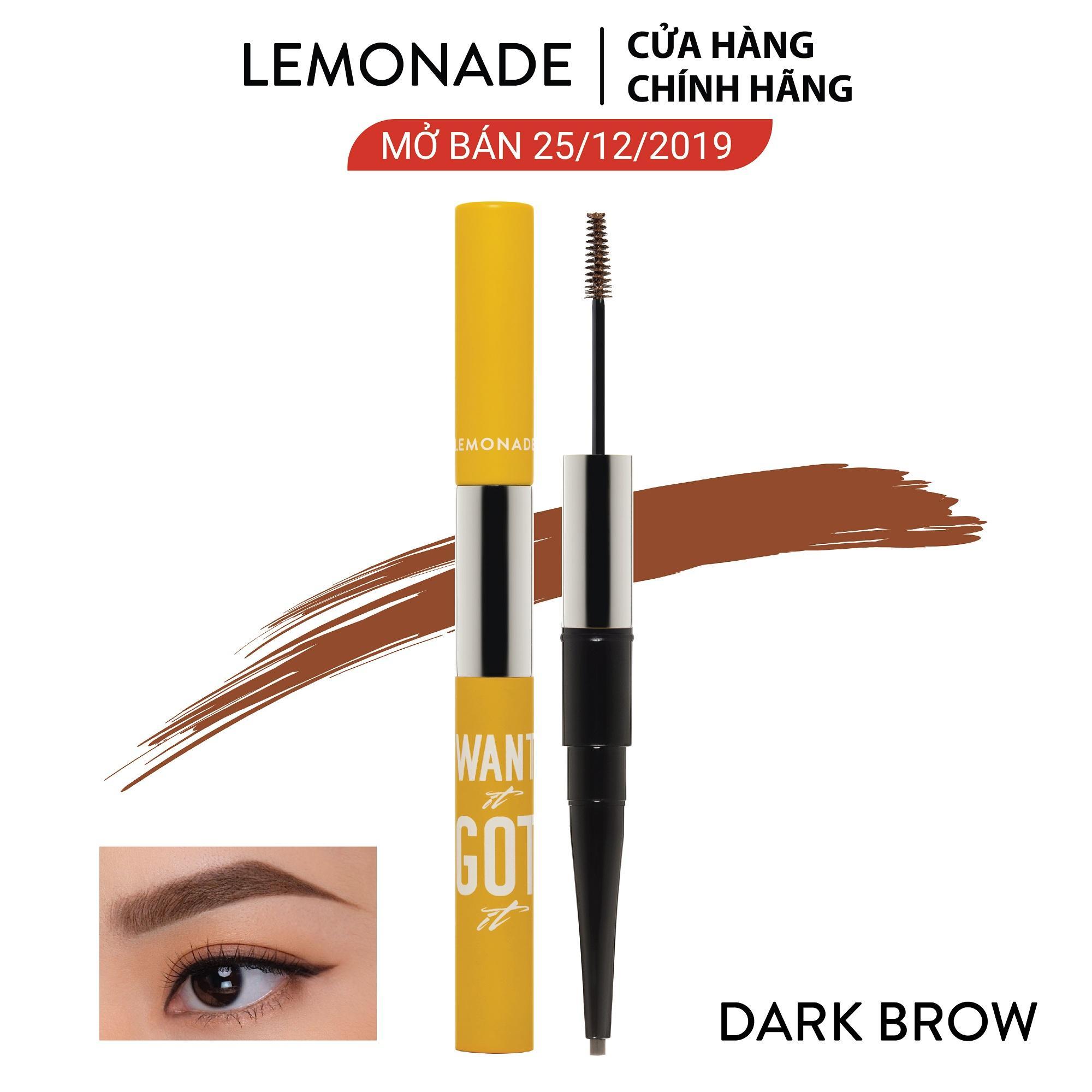 Chì kẻ mày 2 đầu Lemonade Want It Got It Dual Eyebrow 4g tốt nhất